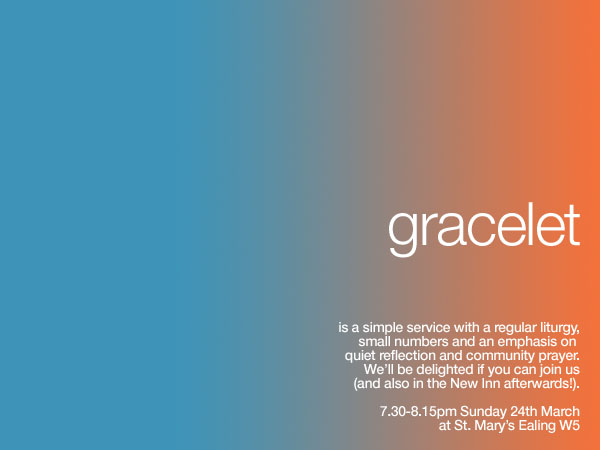 gracelet flyer march 2013